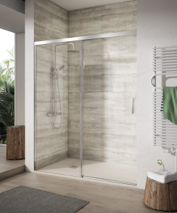 Shower enclosure frontal 1 sliding door