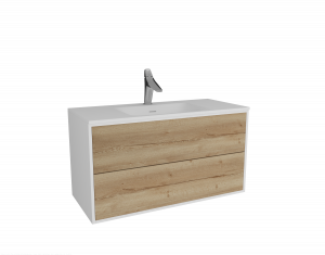 Bath cabinet 2 drawers