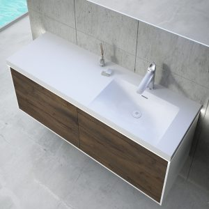 Inset Basin-left 120cm With LED