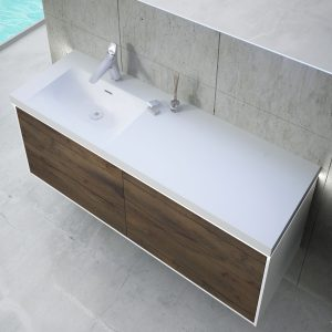 Inset Basin-right 120cm With LED