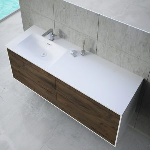 Inset Basin-right 140cm Without LED