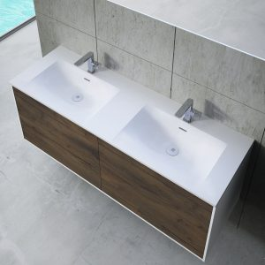 Inset basin double