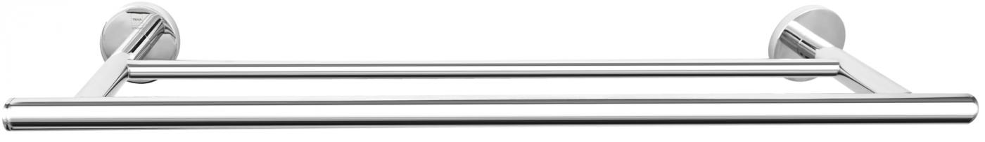 Toallero de barra doble 60cm