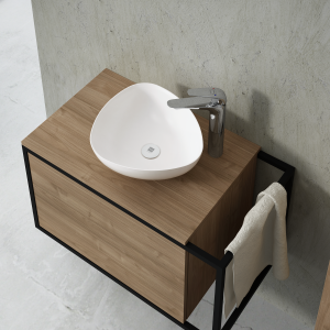 Lavabo triangular