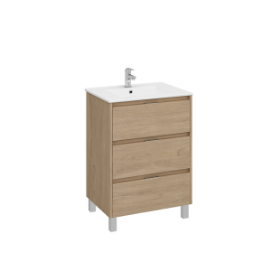 Bath cabinet 3 drawers