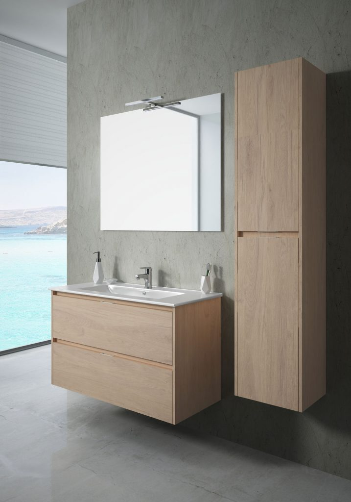 Bath cabinet 2 drawers 95710