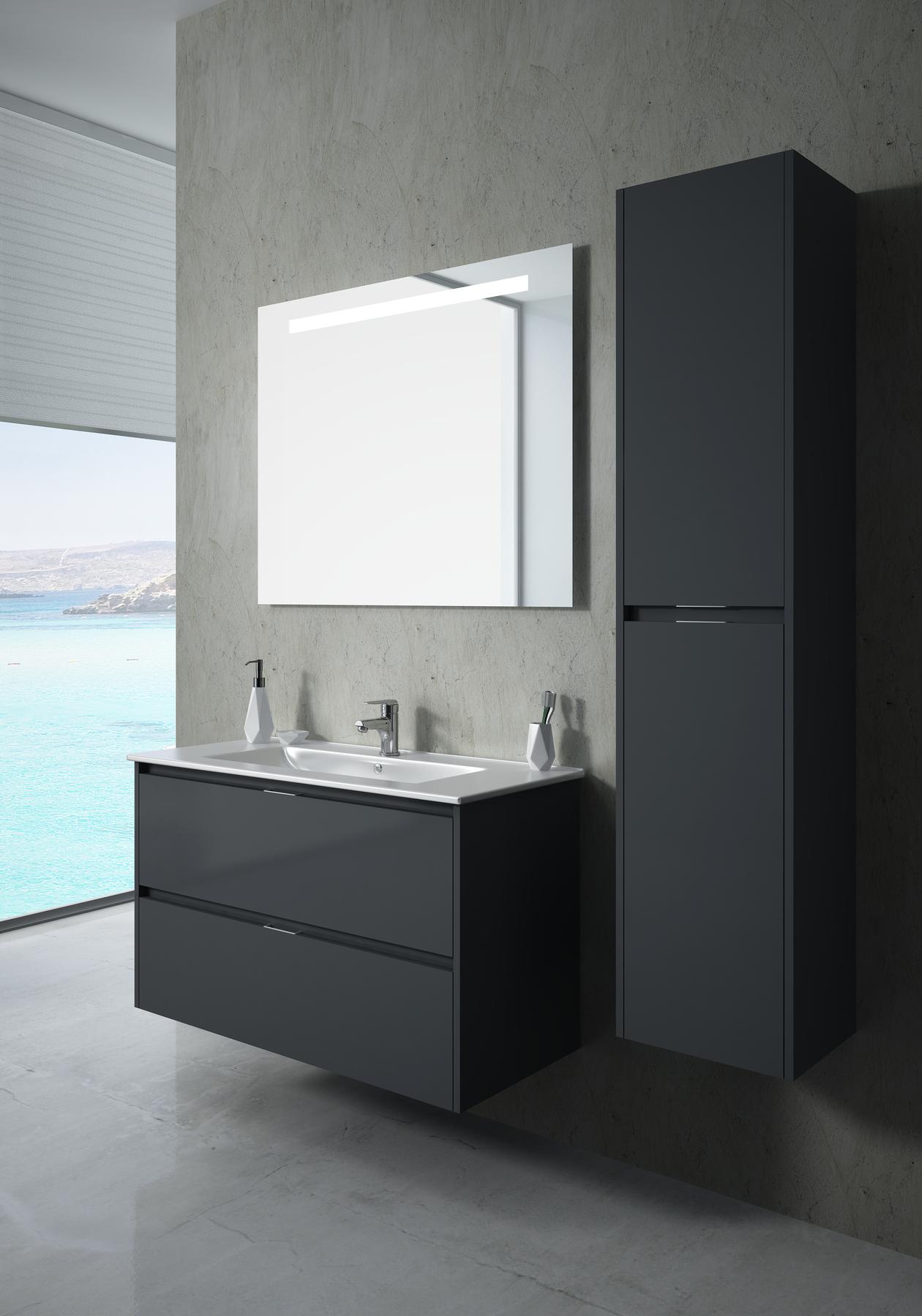 Bath cabinet 100cm 72961
