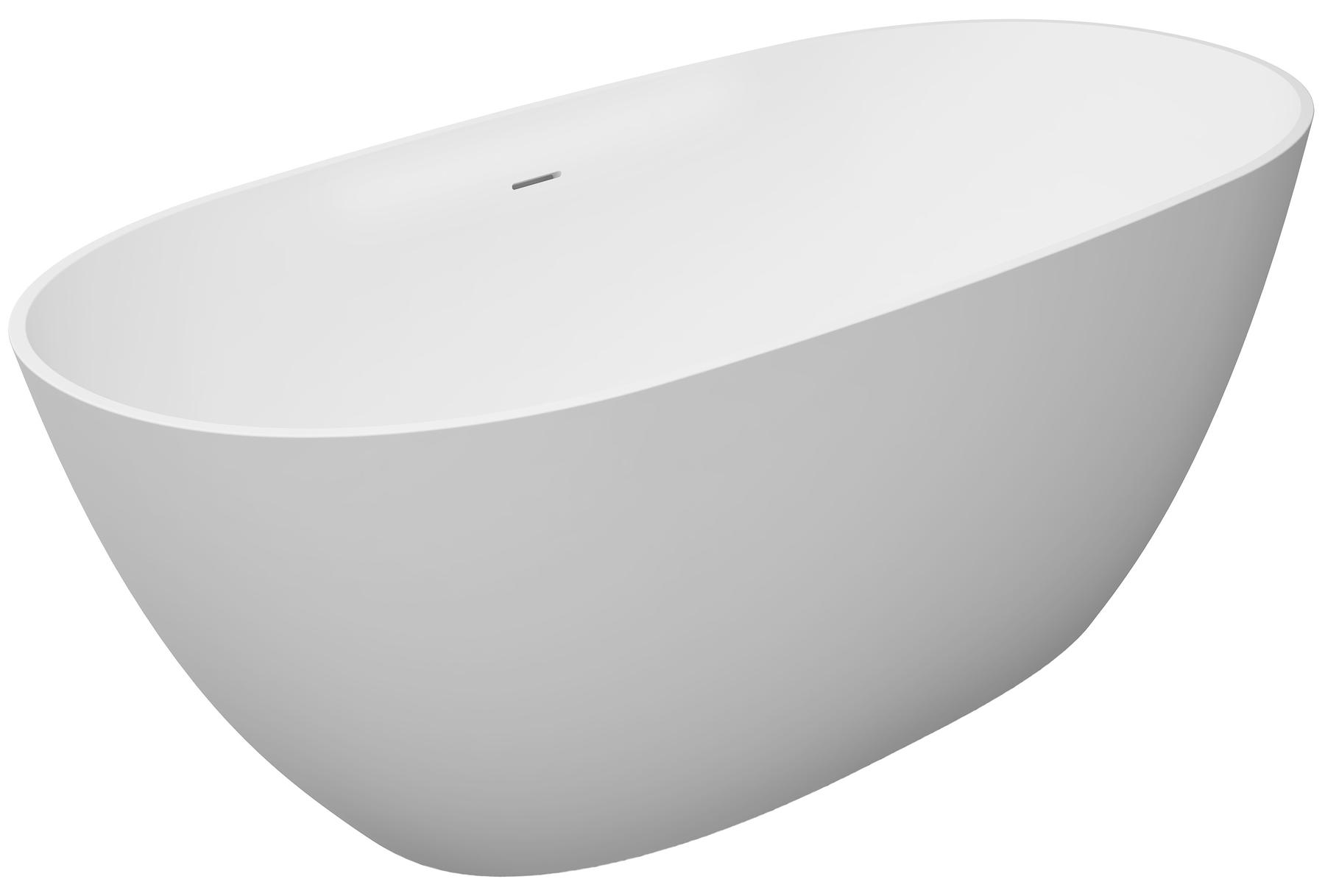 Mineral charge bathtub