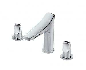 Three hole washbasin mixer