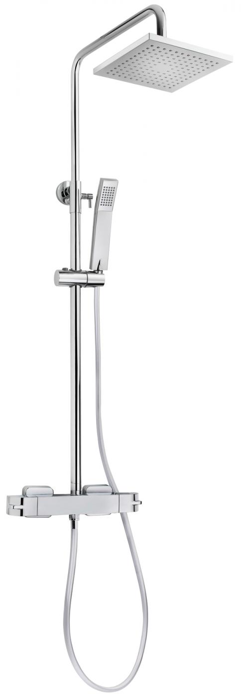 Columna de ducha dual control