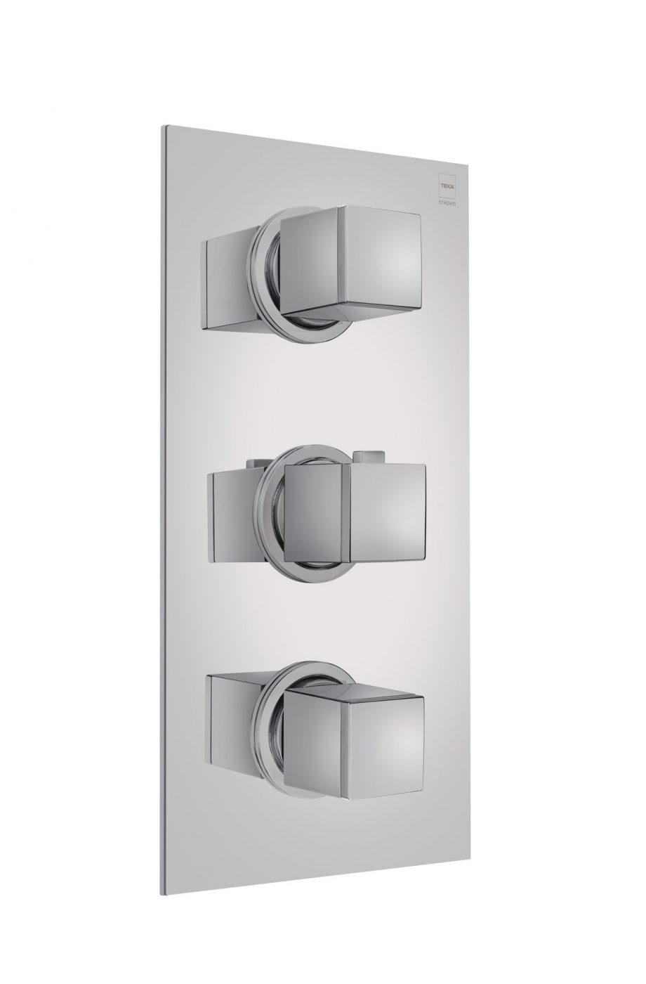 Grifo termostático 3 vías