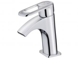 Cascade washbasin mixer