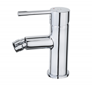 Alaior bidet mixer w pop-up waste