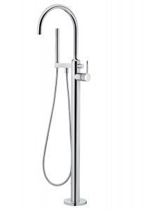 Free standing bathtub mixer