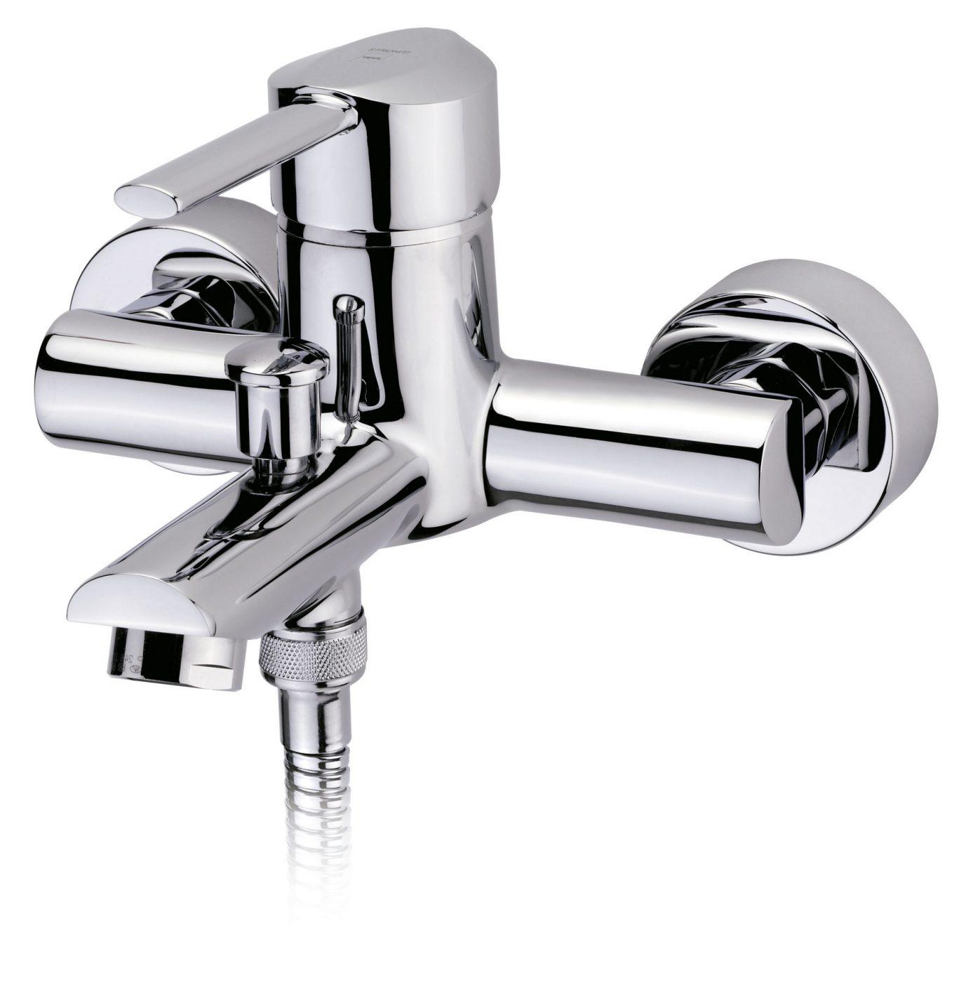 Grifo de baño y ducha con desagüe automático