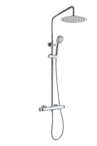 Dual control shower system