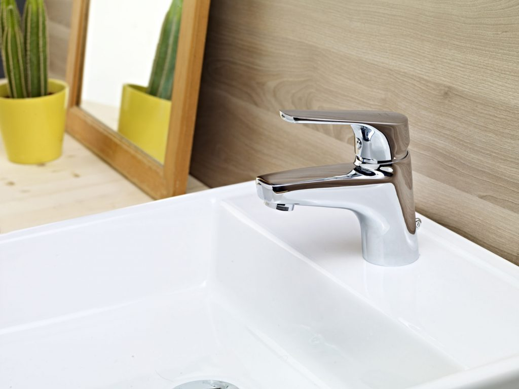 MT Plus washbasin mixer no pop-up waste 78415