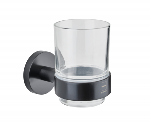 Alaior tumbler holder with glass