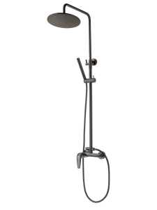 Single lever shower system