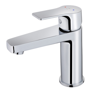Washbasin mixer with popup waste